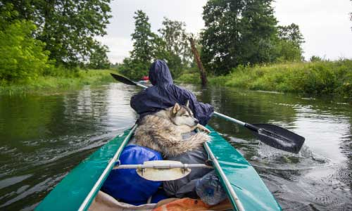 Packing-A-Kayak-For-Camping