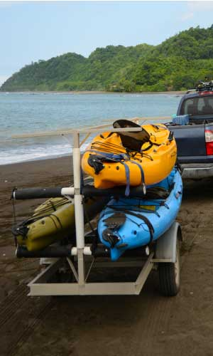 How-To-Transport-A-Kayak-With-A-Trailer